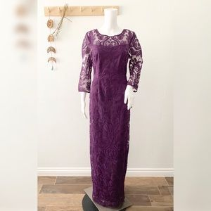 Alex Evenings Lace Special Occasion Dress NWT